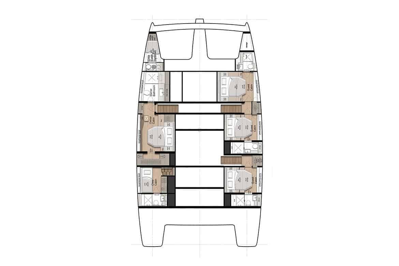 sunreef 60 hull cabin layout option 1