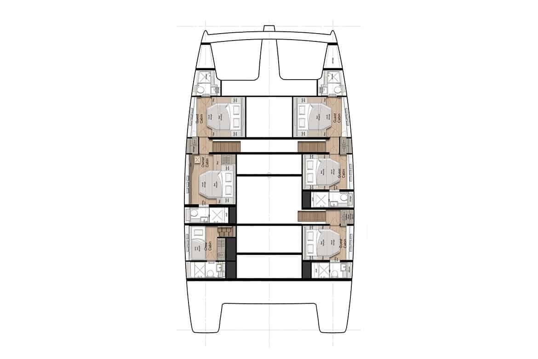 sunreef 60 hull cabin layout option 2