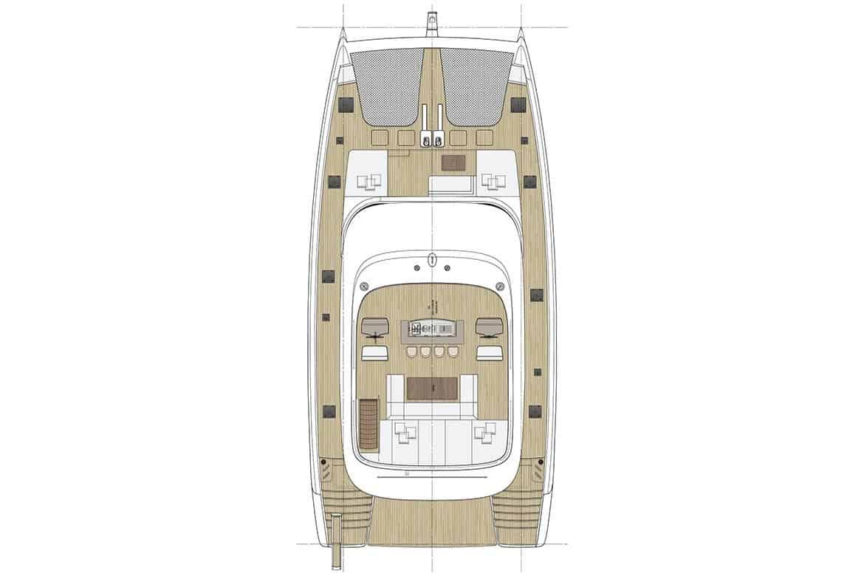 sunreef 80 cockpit layout