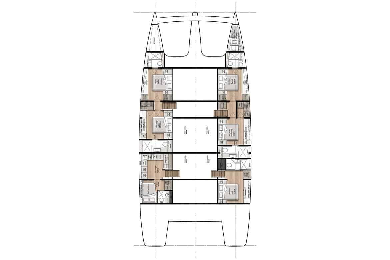 sunreef 80 hull cabin layout option 1