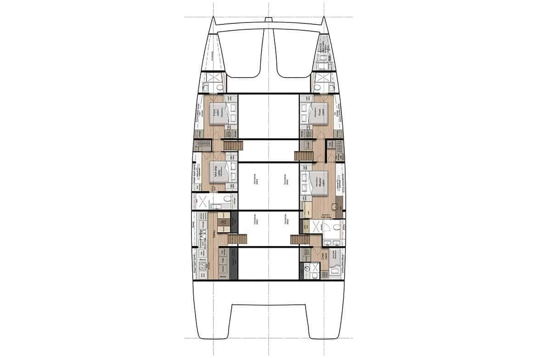 sunreef 80 hull cabin layout option 2
