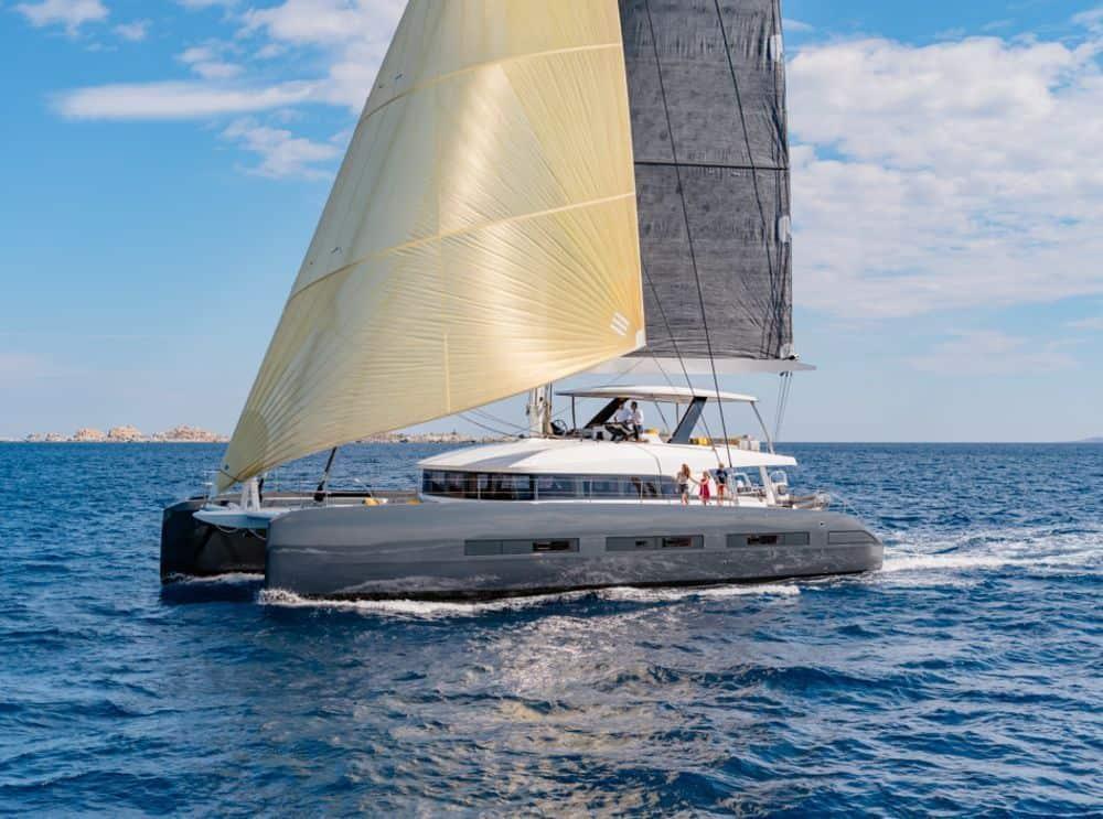Lagoon 77 sailing catamaran