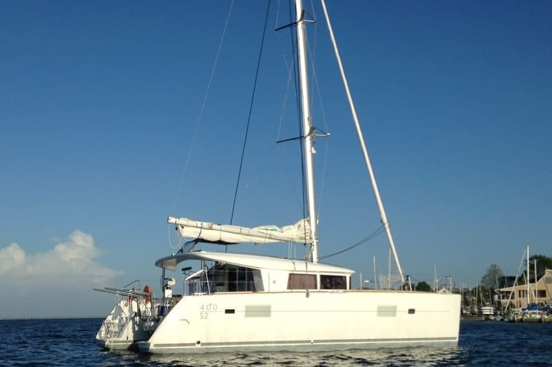 silk pants 2015 lagoon 400s2 for sale listed by catamaran guru