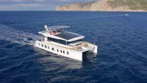 silent yachts silent 55 solar catmaran