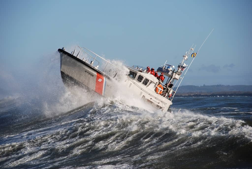prepare for coast guard rescue at sea