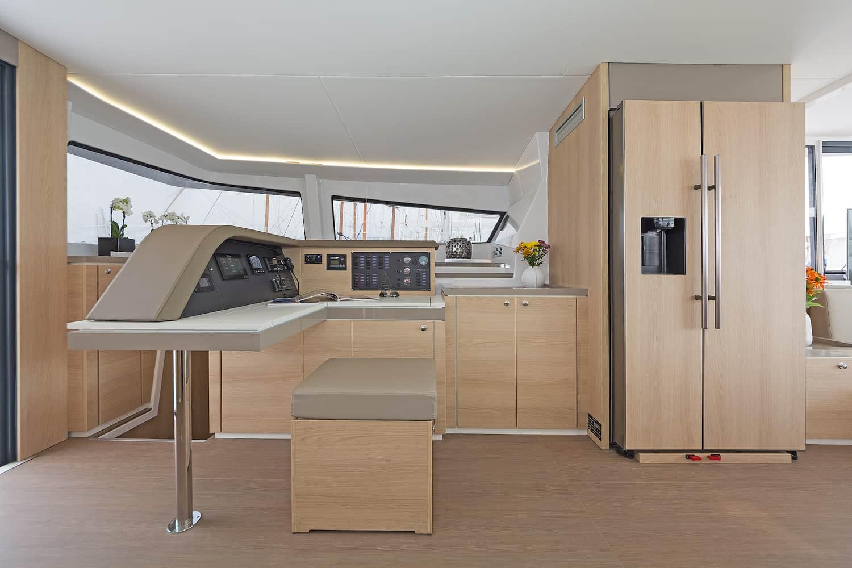 Bali 5.4 catamaran refrigerator