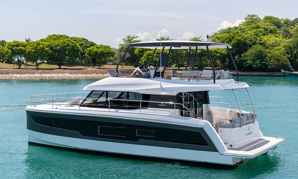 fountaine pajot 40 motor yacht