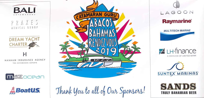catamaran guru Rendezvous in the Abacos Bahamas
