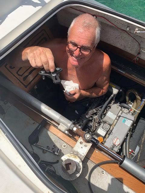 david knight india catamaran mechanic