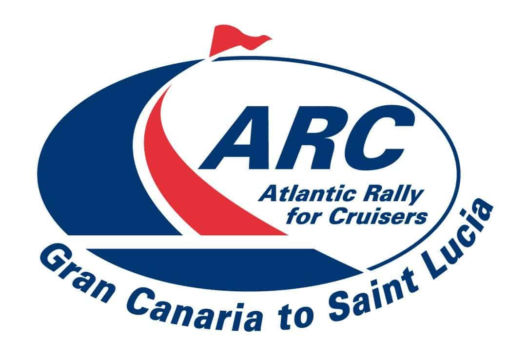 arc rally cruisers gran canaria st lucia logo
