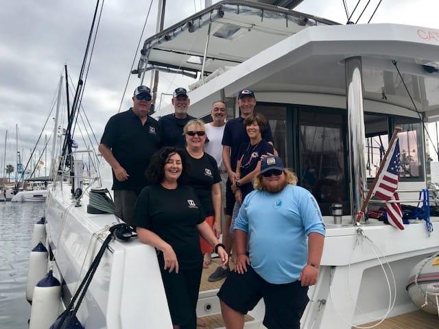 catamaran guru arc rally cruisers 2019 crew eight