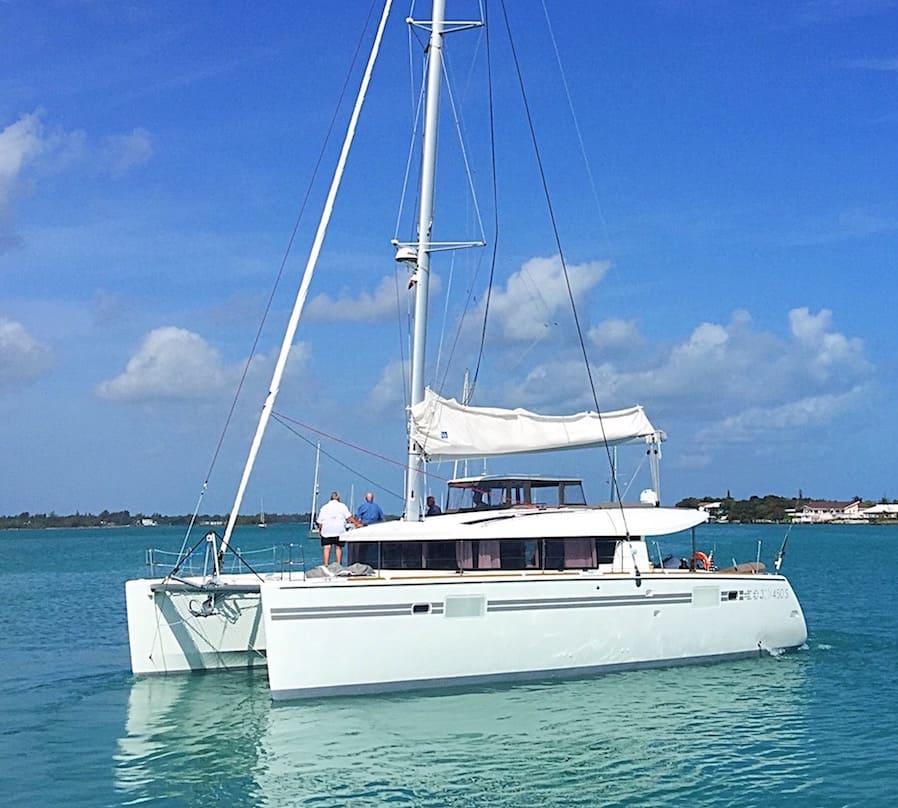 2018 45' Lagoon 450 Sportop Catamaran For Sale