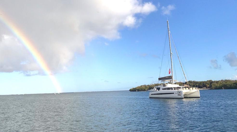 Bali catamaran rainbow