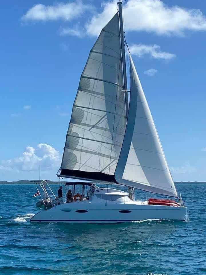 Dave & Peggy Lagoon 380 Catamaran Guru