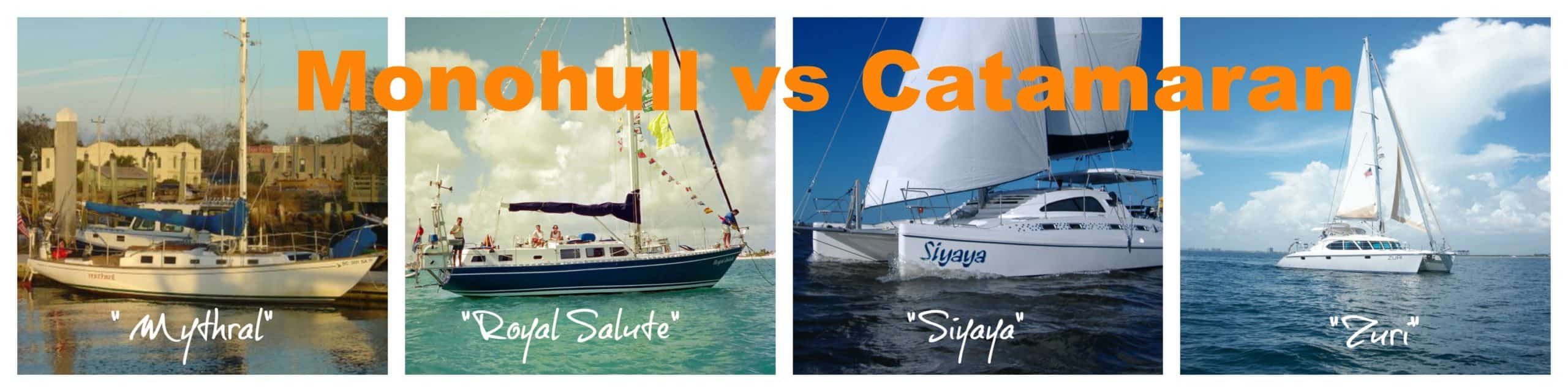 catamaran vs monohull