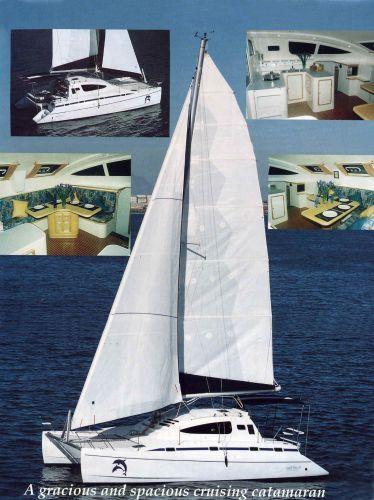 our Island Spirit 37 catamaran
