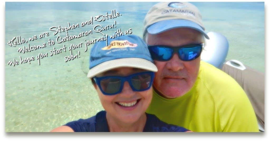 Stephen & Estelle of Catamaran Guru