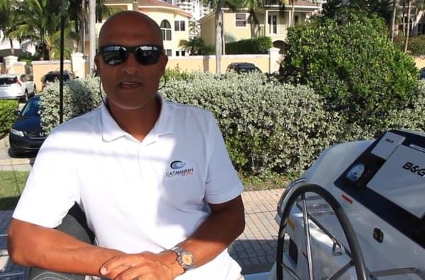 terry singh yacht broker for catamaran guru talking about his favorite used catamaran listing