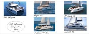 40ft catamaran comparisons