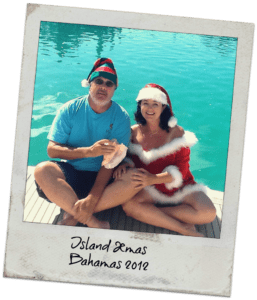 the cockcrofts island christmans in the bahamas in 2018